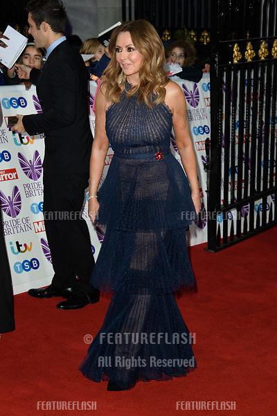 LONDON, UK. October 29, 2018: Carol Vorderman at the Pride of Britain Awards 2018 at the Grosvenor House Hotel, London.<br /> Picture: Steve Vas/Featureflash