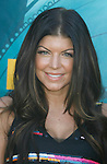 """UNIVERSAL CITY, CA. - August 09: Singer Fergie of the """"Black Eyed Peas"""" arrives at the Teen Choice Awards 2009 held at the Gibson Amphitheatre on August 9, 2009 in Universal City, California."""