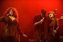 MIAMI BEACH, FLORIDA - JANUARY 18: Tina B, Dwight Hawkes and Adrienne Johnson of Rockers Revenge perform on stage at the Fillmore Miami Beach at the Jackie Gleason Theater on January 18, 2020 in Miami Beach, Florida.  ( Photo by Johnny Louis / jlnphotography.com )