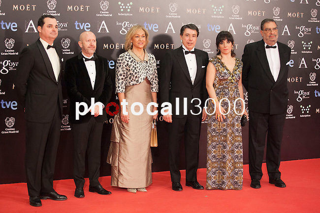 XXXXXX poses in the photocall at the Goya Film Awards ceremony in Madrid on February 9, 2014.  Photo by Nacho Lopez/ DyD FOTOGRAFOS-DYDPPA