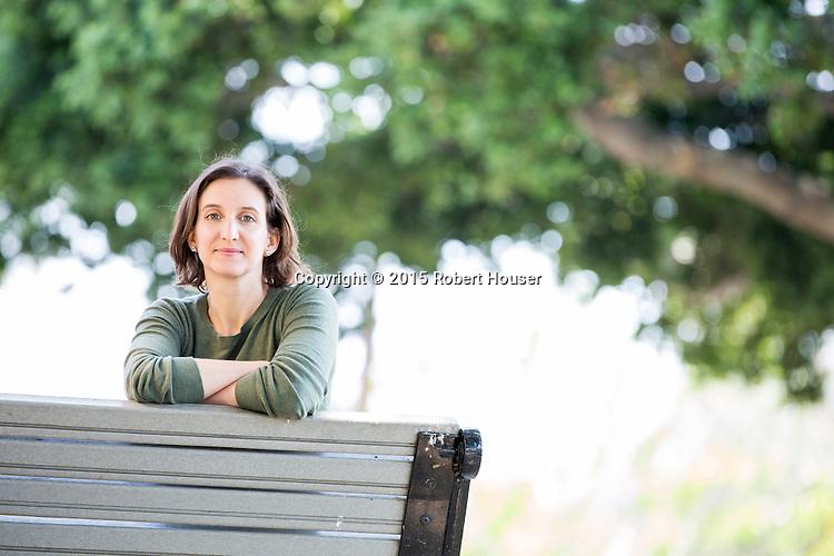 Portrait of Jen Helms- Co Founder of Playmation Studios