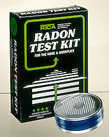 RADON TEST KIT -SHORT TERM CHARCOAL CANISTER<br /> 3&quot; Passive Diffusion/Activated Charcoal Filter<br /> Radon (Rn), whose 3 isotopes-Thoron, Actinon &amp; 222Rn- are formed by alpha disintegration of radium &amp; its isotopes, is a colorless, odorless inert gas with human toxicity due to ionizing radiation.