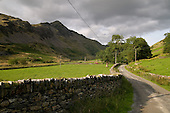 Cnicht mountain and the Croesor Valley, Snowdonia National Park.