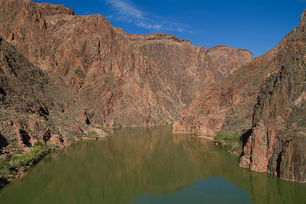 Colorado River at Phantom Ranch Campground, Grand Canyon, Arizona. .  John offers private photo tours in Grand Canyon National Park and throughout Arizona, Utah and Colorado. Year-round.