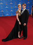 Anna Paquin Moyer & Stephen Moyer..  at The 62nd Anual Primetime Emmy Awards held at Nokia Theatre L.A. Live in Los Angeles, California on August 29,2010                                                                   Copyright 2010  DVS / RockinExposures