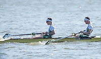 Brandenburg. GERMANY.<br /> IRL LM2-. Bow <br /> Mark O'DONOVAN and Shane O'DRISCOLL, 2016 European Rowing Championships at the Regattastrecke Beetzsee<br /> <br /> Saturday  07/05/2016<br /> <br /> [Mandatory Credit; Peter SPURRIER/Intersport-images]