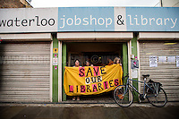"22.07.2016 - ""The Big Unfriendly Closure of Waterloo Library"""