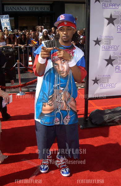 MURPHY LEE at the 3rd Annual BET (Black Entertainment TV) Awards at the Kodak Theatre, Hollywood..June 24, 2003