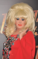 New York,NY-May 18: Lady Bunny attend the 'Absolutely Fabulous: The Movie' New York premiere at SVA Theater on July 18, 2016 in New York City. @John Palmer / Media Punch