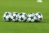 Palloni della Champions, Balls Champions<br /> Napoli 16-08-2017 Stadio San Paolo <br /> Napoli - Nice <br /> Uefa Champions League 2017/2018 Play Off <br /> Foto Cesare Purini Insidefoto