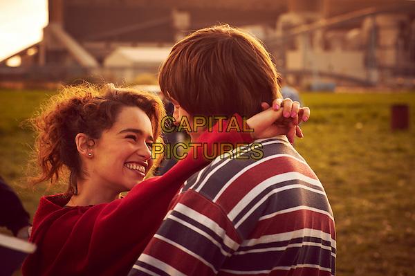 Emilia Clarke & Elliott Tittensor .in Spike Island (2012) .*Filmstill - Editorial Use Only*.CAP/NFS.Supplied by Capital Pictures.