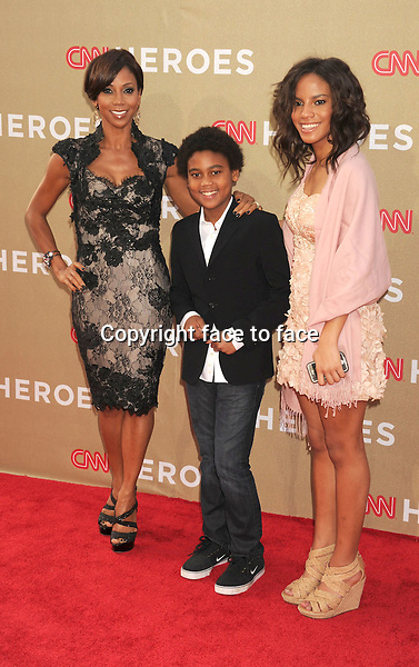 Holly Robinson Peete and children attend the CNN Heroes: An All Star Tribute at The Shrine Auditorium, 02.12.2012...Credit: Mayer/face to face..- No Rights for USA and Canada -