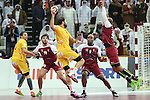 handball wordl cup match between Qatar vs Spain.  maqueda. 2015/01/21. Doha. Qatar. Alberto de Isidro.Photocall 3000