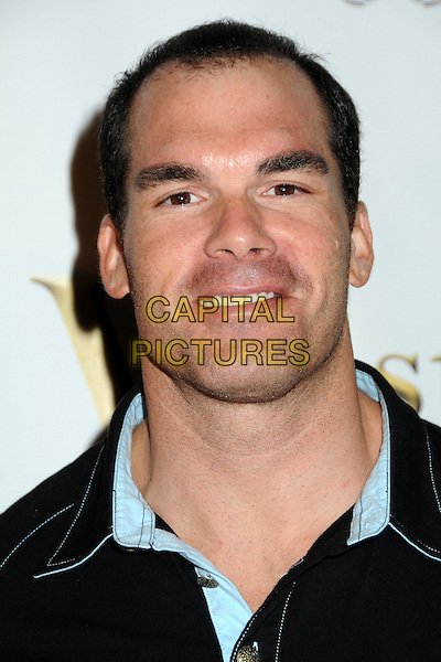 BRANDON MOLALE. 4th Annual Sports Dream Celebrity Poker and Pool Party Celebrating the 2010 ESPY Awards held at the Playboy Mansion, Beverly Hills, California, USA..July 12th, 2010.headshot portrait black blue .CAP/ADM/BP.©Byron Purvis/AdMedia/Capital Pictures.
