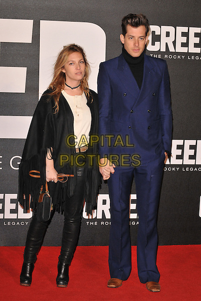 Josephine de La Baume &amp; Mark Ronson attend the &quot;Creed&quot; European film premiere, Empire cinema, Leicester Square, London, UK, on Tuesday 12 January 2016.<br /> CAP/CAN<br /> &copy;Can Nguyen/Capital Pictures