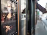 La Jeconde durant le Covid-19 à Paris. Paris Août 2020. ©Nicolas Righetti/Lundi13.ch