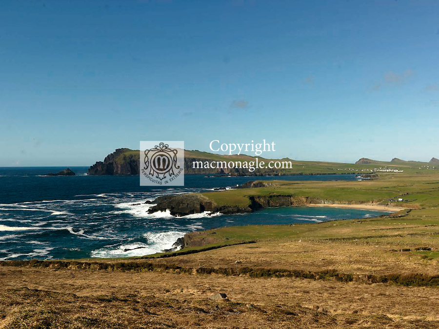 A view of Clogher Strand on the Dingle Peninsula in West Kerry..Picture by Don MacMonagle