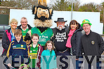 King Puck showed up to march in the Killorglin St Patrick's day parade on Monday l-r: Helene O'Connor, Donie O'Connor, Darragh O'Grady, Dara O'Connor, Lori O'Connor, Pat Healy, Gina O'Grady and Pat Cahill