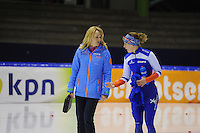 SCHAATSEN: HEERENVEEN: 20-12-2014, IJsstadion Thialf, Trainingswedstrijd schaatsen, ©foto Martin de Jong