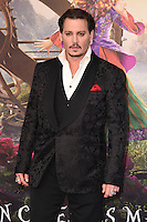 Johnny Depp at the premiere of &quot;Alice Through the Looking Glass&quot; at the Odeon Leicester Square, London.<br /> May 10, 2016  London, UK<br /> Picture: Steve Vas / Featureflash