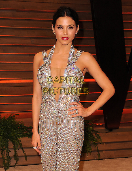 WEST HOLLYWOOD, CA - MARCH 2: Jenna Dewan arrive at the 2014 Vanity Fair Oscar Party in West Hollywood, California on March 2, 2014.  <br /> CAP/MPI/MPI213<br /> &copy;MPI213/MediaPunch/Capital Pictures