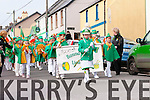 Banna Ceoil Lios Póil parading in Dingle for Saint Patrick's Day.