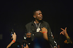 MIAMI BEACH, FL - JUNE 20: Rapper Travmbb performs on stage with NAV aka Navraj Goraya during 'The Bad Habits Tour' at Fillmore Miami Beach at the Jackie Gleason Theater  on June 20, 2019 in Miami Beach, Florida. ( Photo by Johnny Louis / jlnphotography.com )
