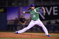 ***Temporary Unedited Reference File***Tulsa Drillers relief pitcher Ralston Cash (30) during a game against the Arkansas Travelers on April 28, 2016 at ONEOK Field in Tulsa, Oklahoma.  Tulsa defeated Arkansas 5-4.  (Mike Janes/Four Seam Images)