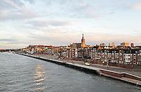 Nederland Nijmegen 2016 02 25.  Nijmegen aan de Waal.  Foto Berlinda van Dam / Hollandse Hoogte