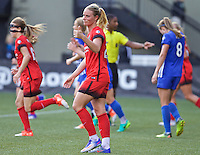 Portland, Oregon - Sunday September 4, 2016: Portland Thorns FC midfielder Amandine Henry (28) during a regular season National Women's Soccer League (NWSL) match at Providence Park.