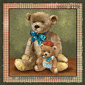 GIORDANO, CUTE ANIMALS, LUSTIGE TIERE, ANIMALITOS DIVERTIDOS, Teddies, paintings+++++,USGI2772,#AC# teddy bears