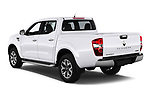 Car pictures of rear three quarter view of a 2018 Renault Alaskan Foraker 4 Door Pick Up angular rear