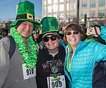 Harry and Janice Carson and Robin Hoffman during the 5th annual Leprechaun Run in Reno on Sunday, March 12, 2017.