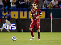 Real Salt Lake midfielder Kyle Beckerman (5). The LA Galaxy defeated Real Salt Lake 2-0 at Home Depot Center stadium in Carson, California on Saturday April 17, 2010.  .