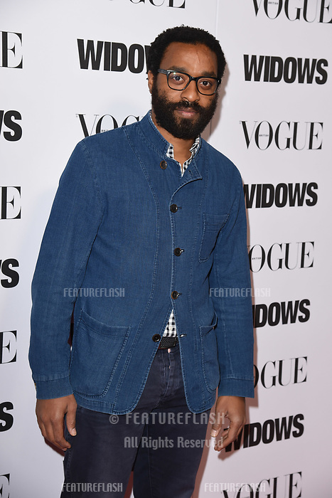 LONDON, UK. October 31, 2018: Chiwetel Ejiofor at the &quot;Widows&quot; special screening in association with Vogue at the Tate Modern, London.<br /> Picture: Steve Vas/Featureflash