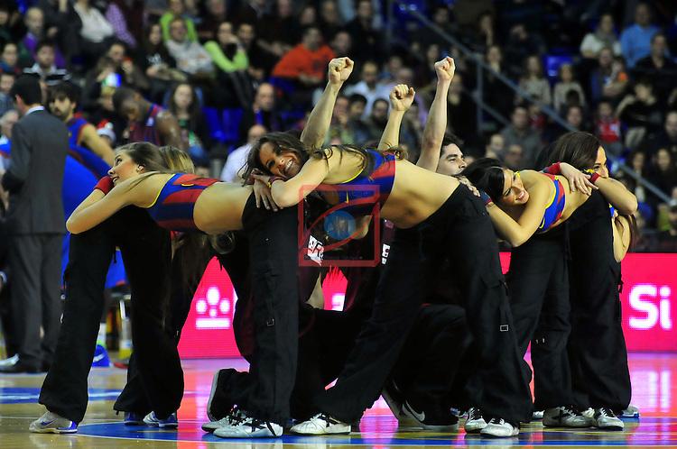 Dream Cheers. FC Barcelona Regal vs Assignia Manresa: 74-61 - League ACB Endesa - Game: 13.