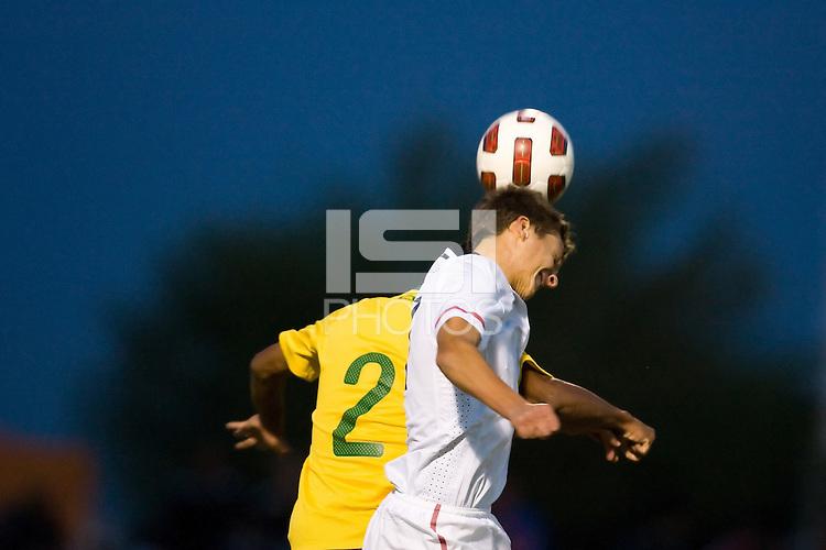 2010 Nike International Friendlies Development Academy Winter Showcase. U17 USA and Brazil played to a 0-0 draw on Friday December 3, 2010.