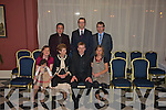 ORDINATION: The Reverend Sean Maher, celebrating with family and friends on Saturday in the Listowel Arms Hotel, following his ordination in Boston on May 29th.