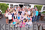 Mike O'Meara, Ballybrack, Firies, and Mairead O'Connor, Ballyhar, pictured with their families and friends as they celebrated their joint 40th birthdays in Kate Kearneys Cottage, Beaufort on Saturday night.....................