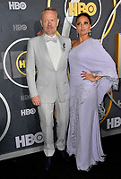 LOS ANGELES, USA. September 23, 2019: Jared Harris & Allegra Riggio at the HBO post-Emmy Party at the Pacific Design Centre.<br /> Picture: Paul Smith/Featureflash