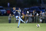 CARY, NC - OCTOBER 06: UNC's Mark Salas. The University of North Carolina Tar Heels hosted the Wake Forest University Demon Deacons on October 6, 2017 at Koka Booth Field at WakeMed Soccer Park in Cary, NC in a Division I college soccer game.