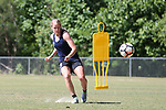 CARY, NC - MAY 04: Makenzy Doniak. The North Carolina Courage held a training session on May 4, 2017, at WakeMed Soccer Park Field 6 in Cary, NC.