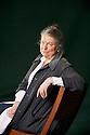 Candia McWilliam, Scottish Author and Writer  at The Edinburgh International Book Festival 2011.  Credit Geraint Lewis