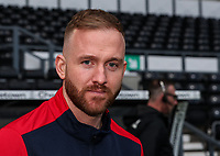 Bolton Wanderers' Ben Alnwick pictured before the match <br /> <br /> Photographer Andrew Kearns/CameraSport<br /> <br /> The EFL Sky Bet Championship - Derby County v Bolton Wanderers - Saturday 13th April 2019 - Pride Park - Derby<br /> <br /> World Copyright &copy; 2019 CameraSport. All rights reserved. 43 Linden Ave. Countesthorpe. Leicester. England. LE8 5PG - Tel: +44 (0) 116 277 4147 - admin@camerasport.com - www.camerasport.com
