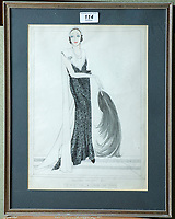 BNPS.co.uk (01202 558833)<br /> Pic: PhilYeomans/BNPS<br /> <br /> Norman Hartnell design - 'Specially designed for the Duchess of York' <br /> <br /> A remarkable 'time warp' Royal archive amassed by the Queen's dressmaker has been found inside his old country home.<br /> <br /> The late Ian Thomas was a dress designer for members of the Royal Family, including Her Majesty, for over 30 years.<br /> <br /> As an apprentice he worked alongside the renowned fashion designer Norman Hartnell on creating the Queen's coronation dress in 1953.<br /> <br /> His archive includes embroidered samples of the gown worn by Elizabeth II for the historic ceremony in Westminster Abbey that was broadcast to millions.<br /> <br /> Mr Thomas also designed outfits for the Queen Mother and Princess Margaret.
