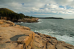 Morning Light on Rocky Coast, Acadia National Park, Maine