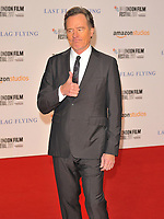Bryan Cranston at the 61st BFI LFF &quot;Last Flag Flying&quot; Headline gala, Odeon Leicester Square, Leicester Square, London, England, UK, on Sunday 08 October 2017.<br /> CAP/CAN<br /> &copy;CAN/Capital Pictures /MediaPunch ***NORTH AND SOUTH AMERICAS ONLY***