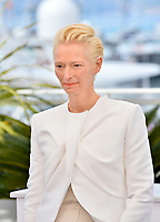 "CANNES, FRANCE. May 15, 2019: Tilda Swinton at the photocall for ""The Dead Don't Die"" at the 72nd Festival de Cannes.<br /> Picture: Paul Smith / Featureflash"