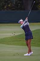 Nelly Korda (USA) hits her approach shot on 4 during round 3 of the 2019 US Women's Open, Charleston Country Club, Charleston, South Carolina,  USA. 6/1/2019.<br /> Picture: Golffile | Ken Murray<br /> <br /> All photo usage must carry mandatory copyright credit (© Golffile | Ken Murray)