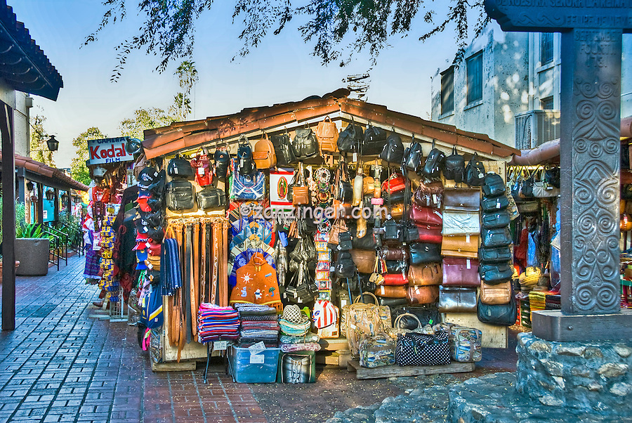 Olvera  Street Street Vendor Los Angeles CA